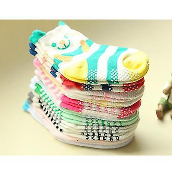 Autumn & Spring Cotton Non-slip Cartoon Socks