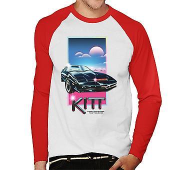 Knight Rider Knight Industries två tusen män's Baseball Långärmad T-shirt