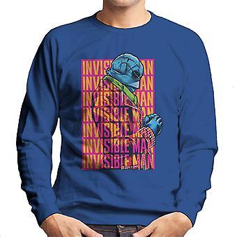The Invisible Man Silhouette Multi Logo Men's Sweatshirt