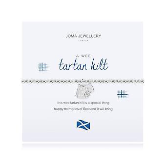 Joma Jewellery A Wee Tartan Kilt Bracelet 2549