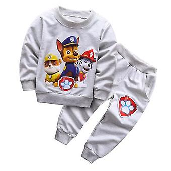 Boys Hooded Top And Pants, Design 7