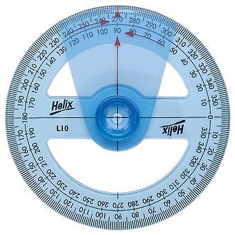 Helix L10010 10cm Angle Measure