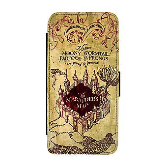 Harry Potter Marauder's Map iPhone 11 Wallet Case