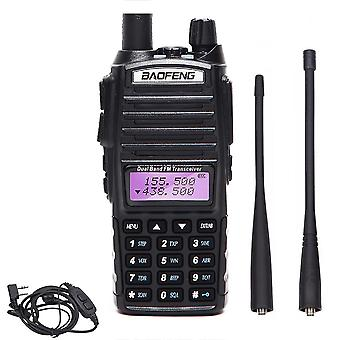Long Range Powerful Walkie Talkie Portable Cb Vhf/uhf Ptt Two Way Radio Amador