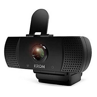 Pelaaminen web-kamera Krom NXKROMKAM Full HD 30 FPS