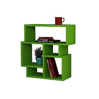 Salontafel Caffe'Karma Green Color in Melamine Spaanplaat, L55xP22xA55 cm