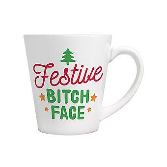 Grindstore Festive Bitch Face Mug
