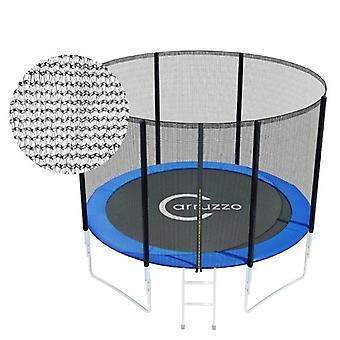 Bord trampoline 244 cm - 8FT - filet de chute zippé
