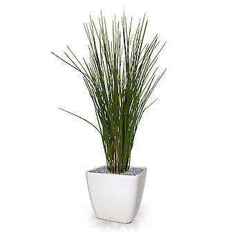 Planta de grama artificial 80 cm UV em pote