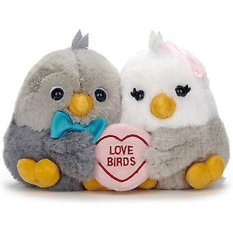"Love Hearts 18cm (7"") Love Birds"