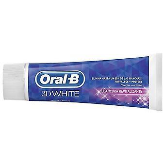 Oral B 3D weiße Zahnpasta Revitalisierende Minze 75 ml