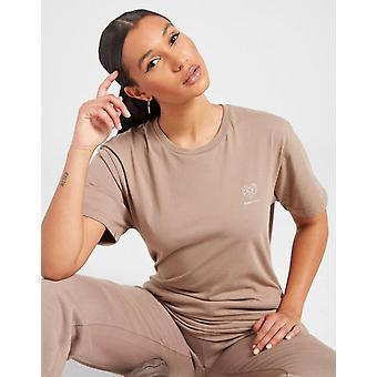 New Pink Soda Sport Women's Essentials Boyfriend T-Shirt from JD Outlet Brown