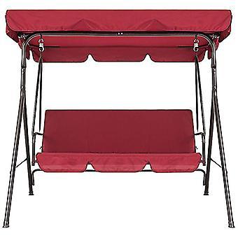 3-seters utendørs deksel vanntett swing stol