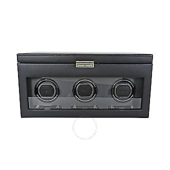 Wolf Viceroy Module 2.7 Triple Watch Winder with Storage 456302