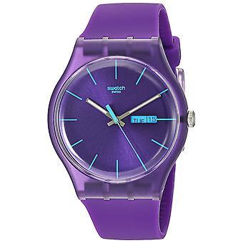 Swatch Purple Rebel Watch SUOV702