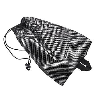 Quick Dry Swim Dive Net Bag, Drawstring Type Water Sports Snorkel Flippers