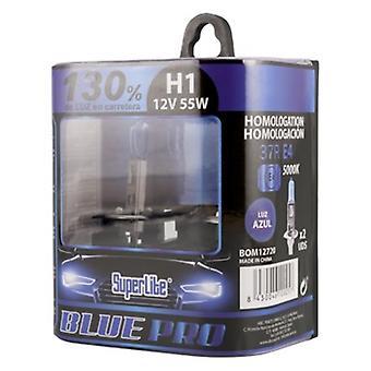 لمبة السيارات سوبرلايت H1 12V 55W 5000K