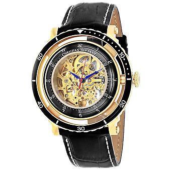 Christian Van Sant Men's Dome Gold Zifferblatt Uhr - CV0750