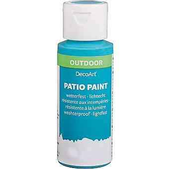 59ml Outdoor Patio Paint - Indian Turquoise