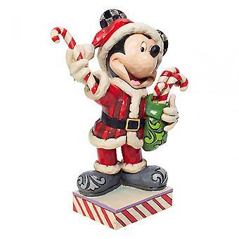 Disneyn perinteet Mikki Hiiri karkkikeppien kanssa Figurine