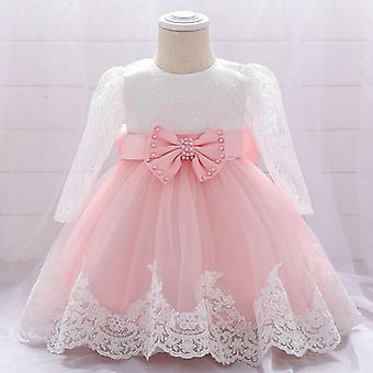 Girls Clothes, Long Sleeve Lace Tutu Dress, Party Dresses