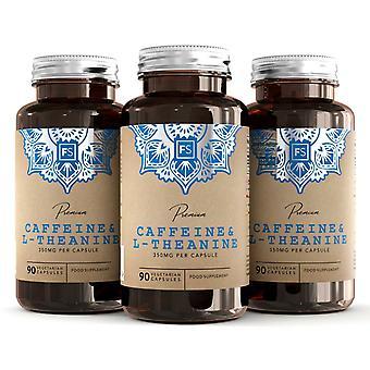 Caféine & L-Théanine (100mg + 250mg) 90 Capsules