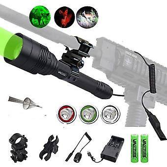 C11 Tactical Zoomable Hunting Flashlight