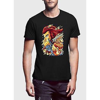 Donner halblangen Ärmeln T-shirt