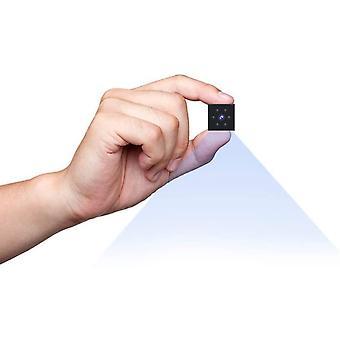 Mini Indoor / Outdoor 1080P HD Bewakingscamera - Kleine Magnetische Geïntegreerde Nanny Cam Camera met Bewegingsdetectie (Zwart)