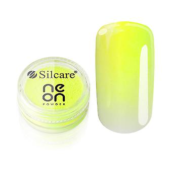 Silcare - Neon Pulver - 05 - Lime - 3 gram
