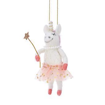 Sass & Belle Fairy Unicorn Hanging Decoration