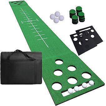 FengChun Putting Matte, Golf Puttingmatte fr Indoor und Outdoor mit Golfblle