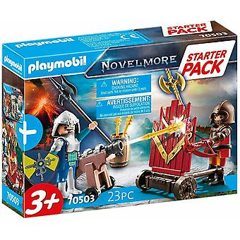 Playmobil Starter Pack Novelmore Knights Duel 70503 Ålder 3+