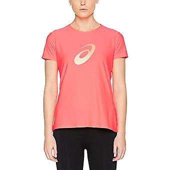 ASICS Graphic SS Camiseta de manga corta, Mujer, Mujer, Gráfica SS, Rosa (Diva Rosa), L