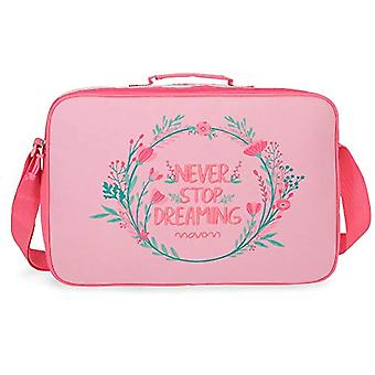 Movom Never Stop Cartella Rosa 38x28x6 cms Poliestere