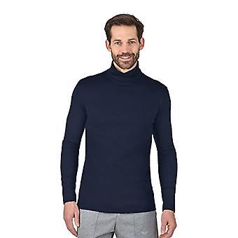 Trigema 602010 Sweatshirt, Blue (Ship 046), XL Man