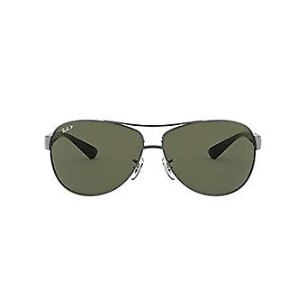 Ray-Ban RB 3386 Montages, Gris (Gunmetal/Polar Green), 67 Hommes