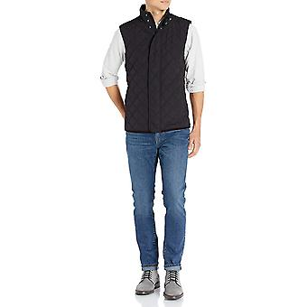 Brand - Buttoned Down Men's Water Repellant Quilted Vest