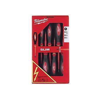 Milwaukee VDE Slim Screwdriver Set, 7 Piece 4932471453