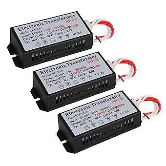 3PCS AC110V bis 12V Elektronischer Transformator Modell 160W Beleuchtungskomponenten
