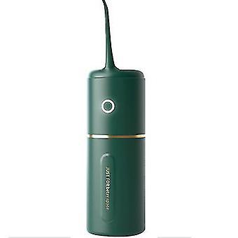 Vihreä kannettava kotitalouksien sähköhammaspuhdistusaine, korkeataajuuksinen pulssihammaspuhdistusaine az21055