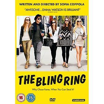DVD-skivan med Bling-ringen