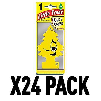 Very Vanilla (Pack Of 24) Little Trees Air Freshener