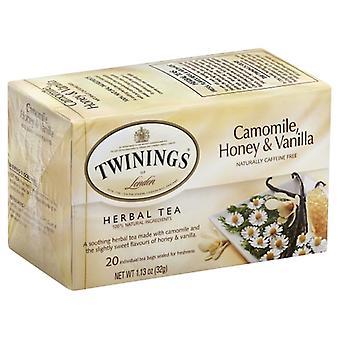 Twining Tea Tea Hrbl Cammle Hny Vnla, Case of 6 X 20 Bags