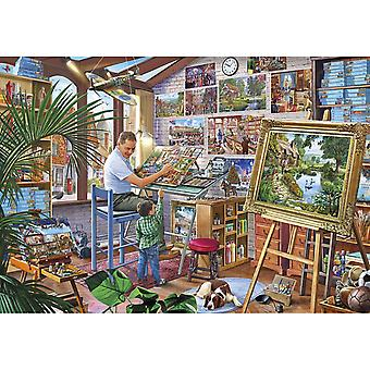 Gibsons A Work of Art Jigsaw Puzzle (2000 Piezas)