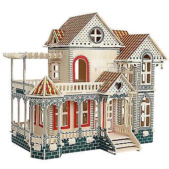 Hawaii 3d fai da-voi puzzle bambini adulto modello difficile legno casa regalo giochi giocattolo| Kit di costruzione di modelli