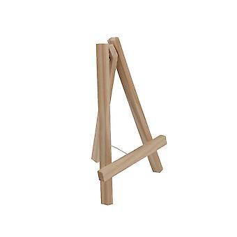 25cm naturlig tre staffeli skjermen stå for bryllup & håndverk