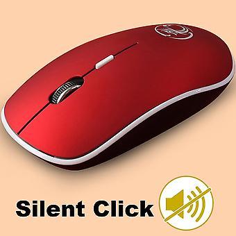 الماوس اللاسلكي الصامت الكمبيوتر الكمبيوتر الماوس لاعب الماوس مريح البصرية noiseless الفئران USB صامت mause اللاسلكية للكمبيوتر المحمول
