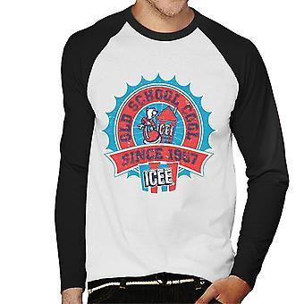 ICEE Old School Cool Men's Baseball Long Sleeved T-Shirt