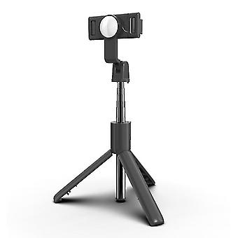 Wireless Bluetooth 4.0 Selfie Stick with Tripod for Phone Selfie Vlog Live(White)